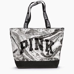 PINK VS Bling Tote New With Tag